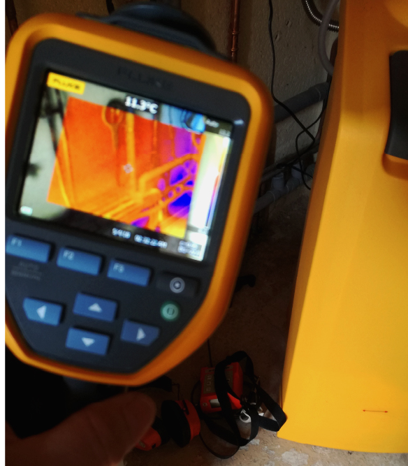 Localisation Thermographique Infrarouge